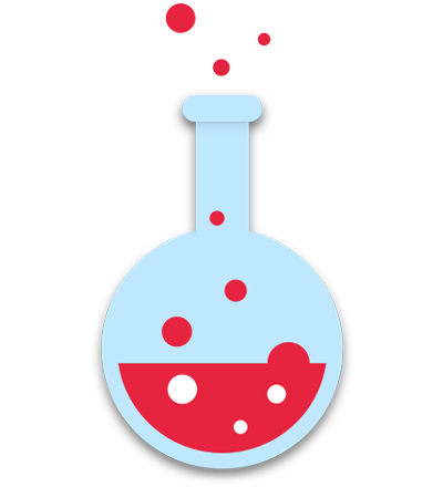 investigación y desarrollo icono