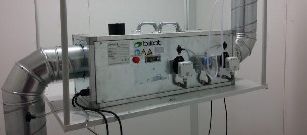 Prototipo de secuestrador de CO2 denominado Angelines
