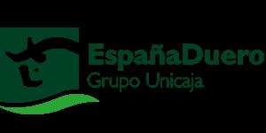 Logotipo del banco España Duero, del grupo Unicaja