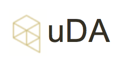 Logotipo de uDA (urban Data Analytics)