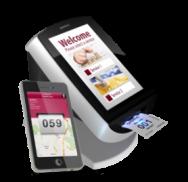 Kiosco dispensador de tickets y App móvil para dar ticket