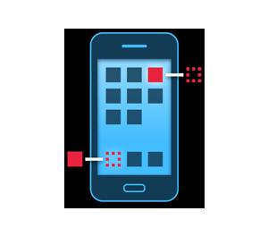 Icono desarrollo de Apps